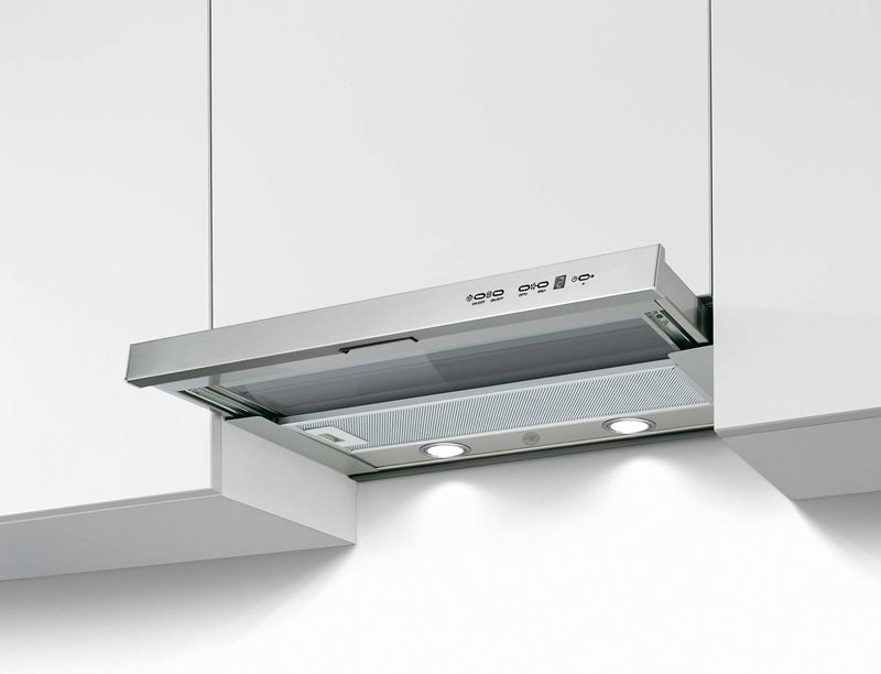 24 Telescopic extension hood, 1 motor 300 CFM | Bertazzoni - Stainless Steel