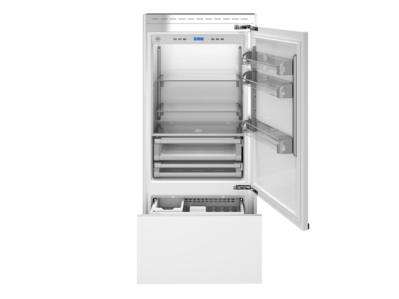 36 Built-In Bottom Mount Panel Ready | Bertazzoni - Stainless Steel