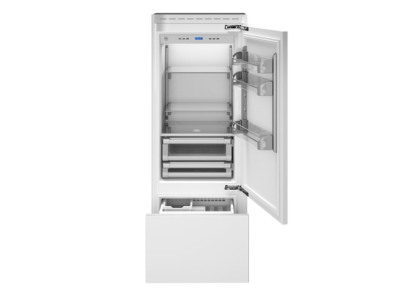 30 Built-In Bottom Mount Panel Ready | Bertazzoni - Stainless Steel