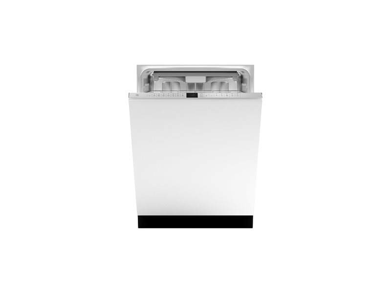 24 Panel Ready Dishwasher 10 settings 49dB | Bertazzoni - Stainless