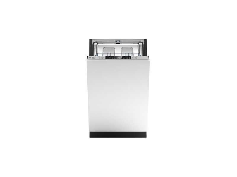 18 Panel Ready Dishwasher 8 settings 49dB | Bertazzoni - Stainless Steel