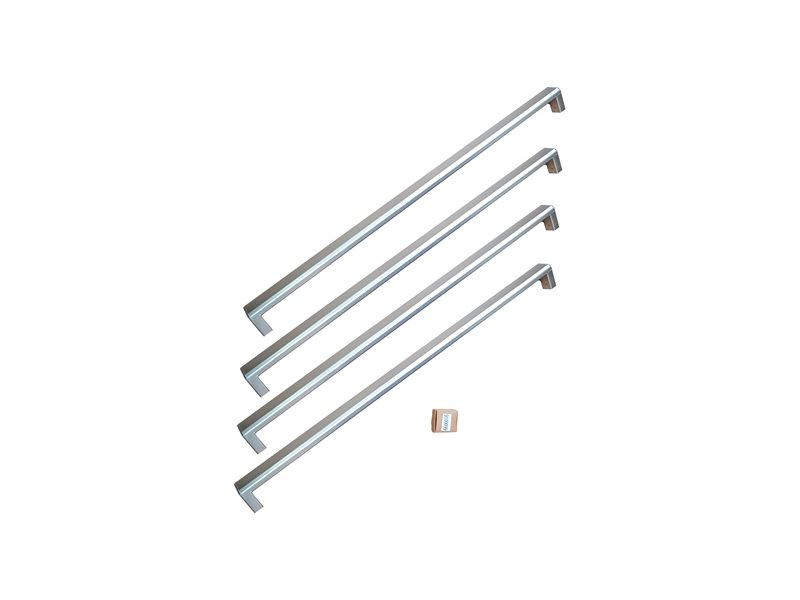 Handle Kit for 36 French Door refrigerator | Bertazzoni - Stainless Steel