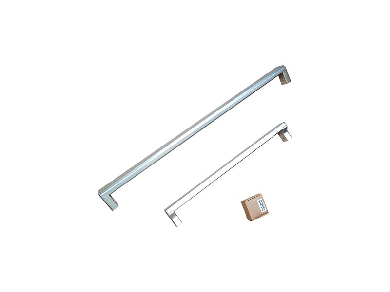 Handle Kit for 31 Bottom Mount refrigerator | Bertazzoni - Stainless Steel