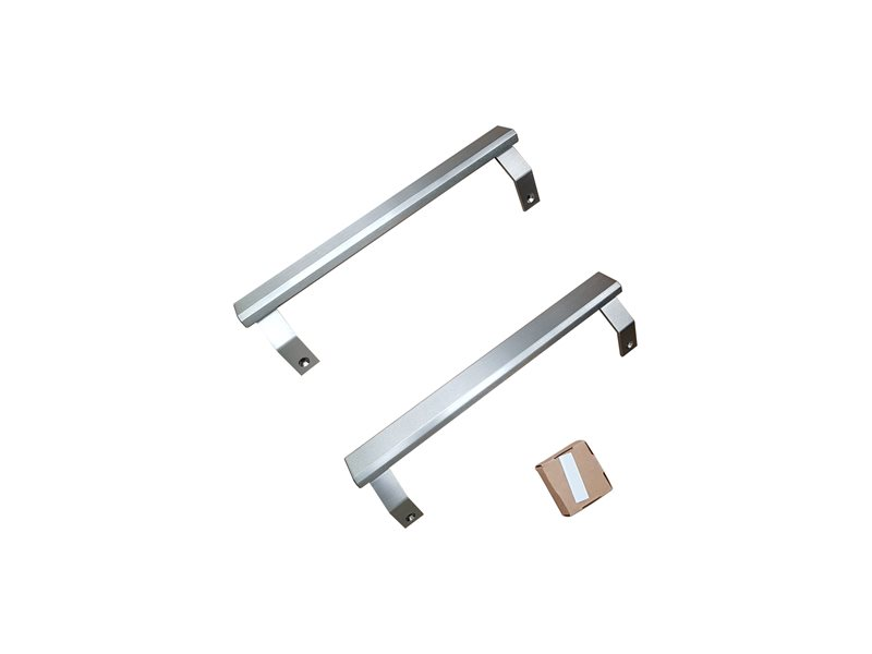 Handle Kit for 24 Bottom Mount refrigerator | Bertazzoni - Stainless Steel
