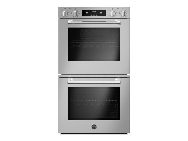 30 Double Electric Convection Oven Self-Clean | Bertazzoni - Stainless Steel