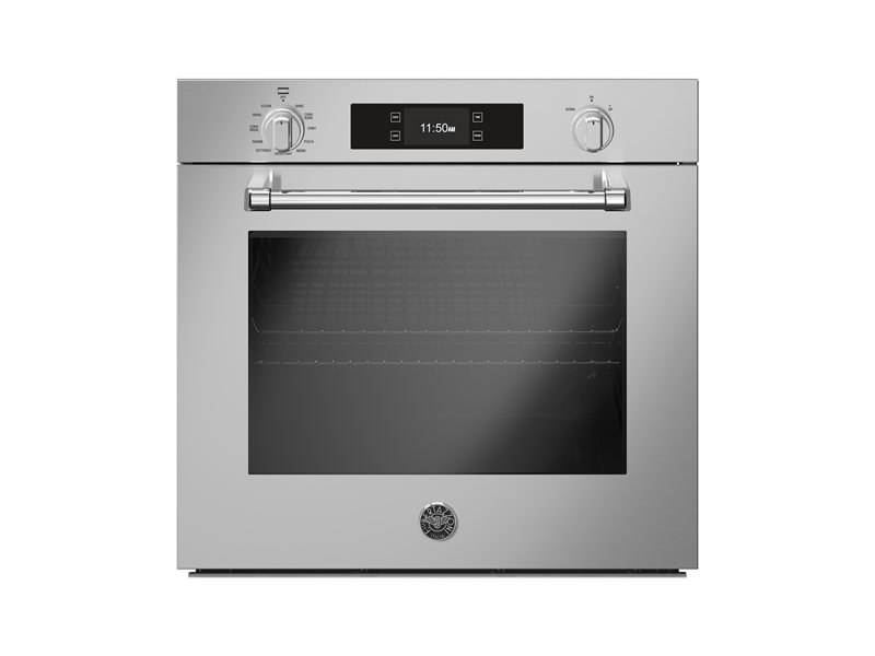 30 Electric Convection Oven Self-Clean with Assistant | Bertazzoni - Stainless Steel