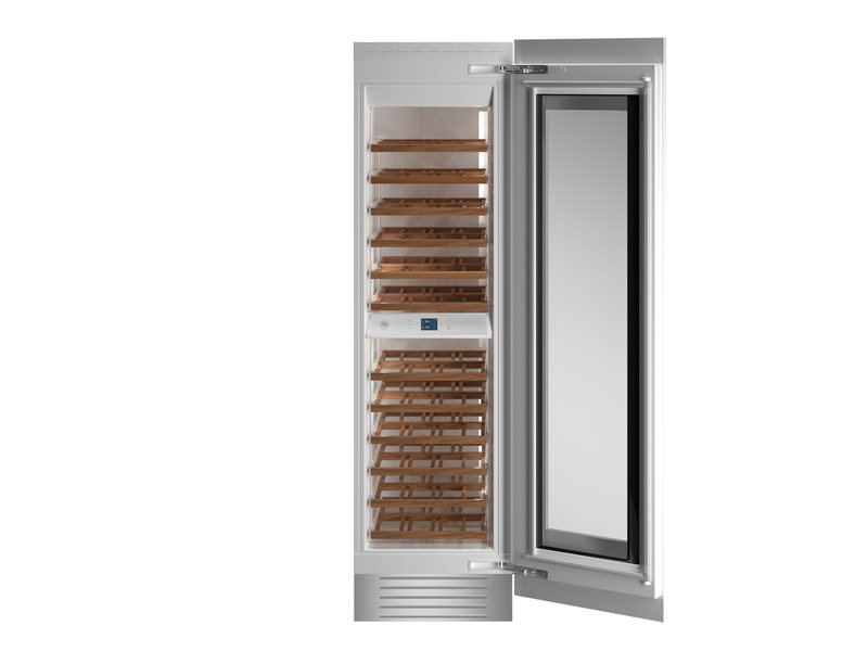 24 Built-in Wine Cellar Column Panel Ready | Bertazzoni - Panel Ready