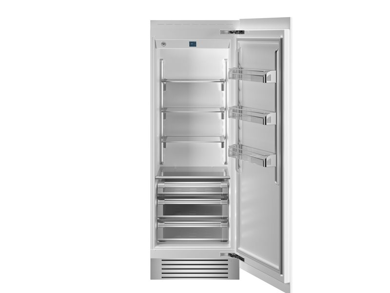30 Built-in Refrigerator Column Panel Ready | Bertazzoni - Panel Ready