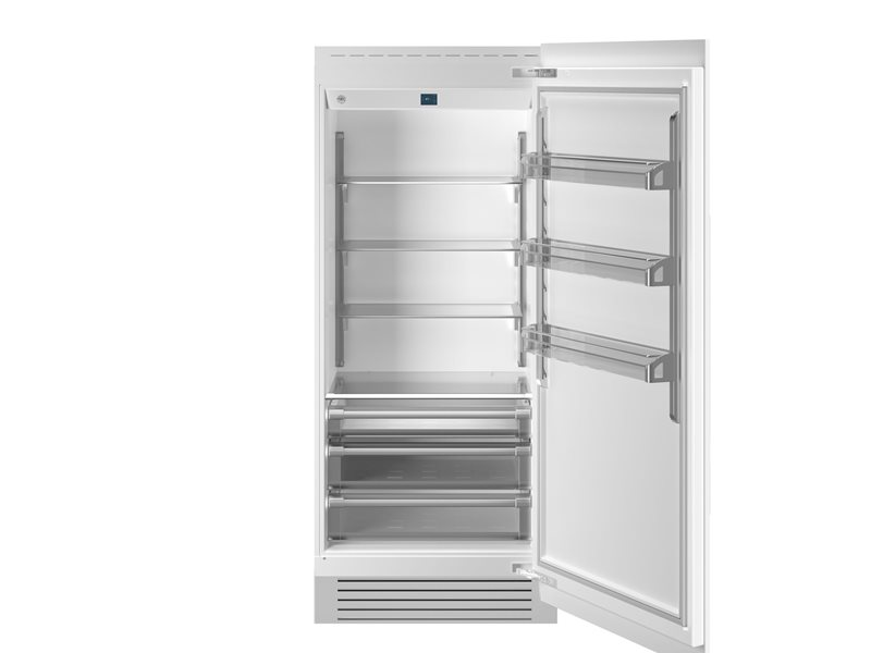 36 Built-in Refrigerator Column Panel Ready | Bertazzoni - Panel Ready