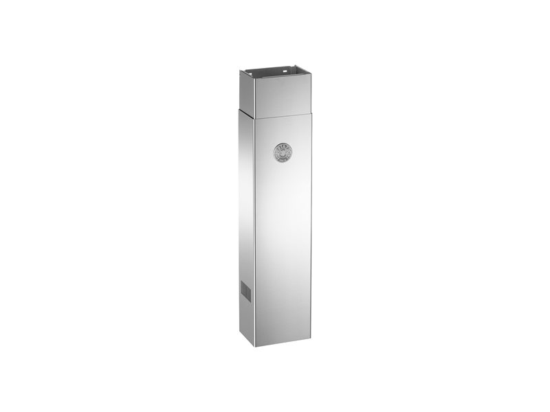 Duct Cover Narrow - Tall / up to 10ft cealing hight | Bertazzoni - Stainless Steel
