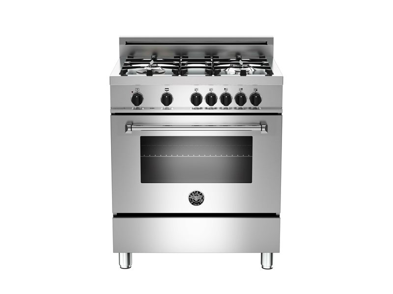 30 4-Burner, Electric Oven | Bertazzoni - Stainless