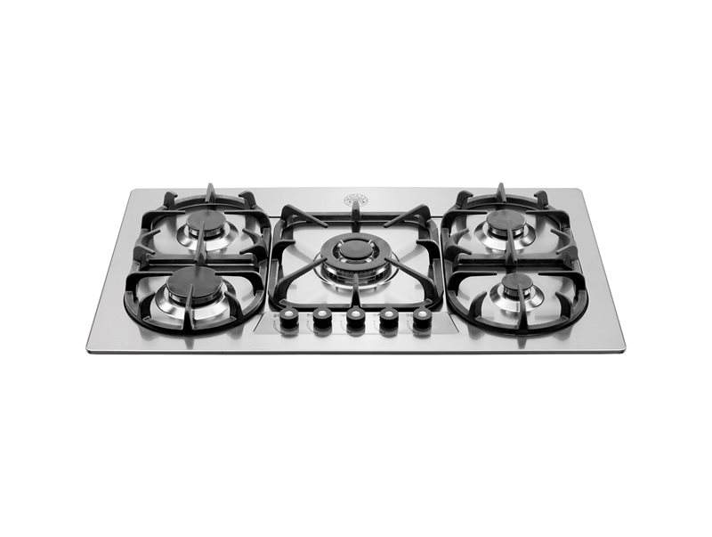 36 Cooktop 5-burner | Bertazzoni - Stainless Steel