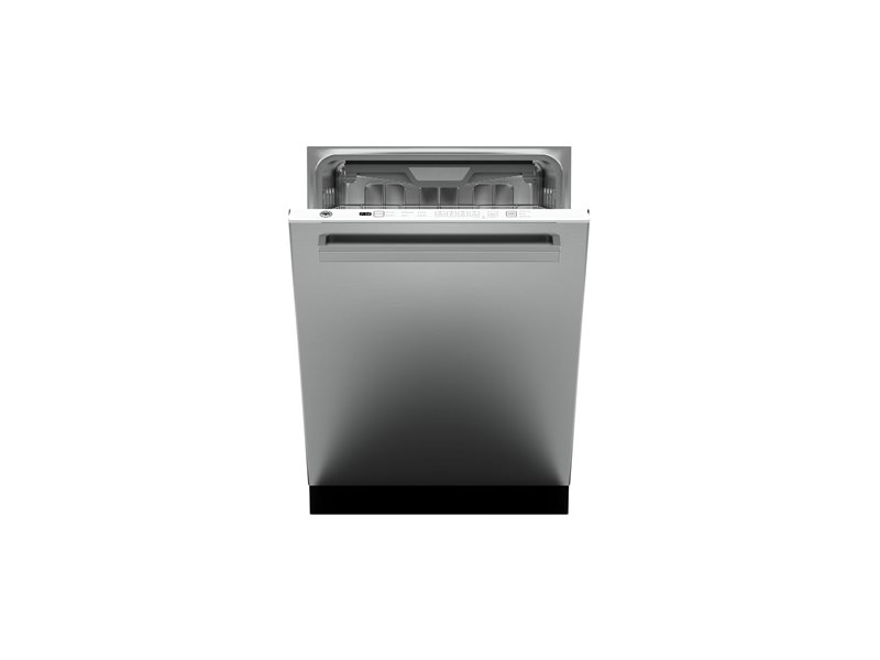 24 Panel Installed Dishwasher 16 settings 45dB | Bertazzoni - Stainless
