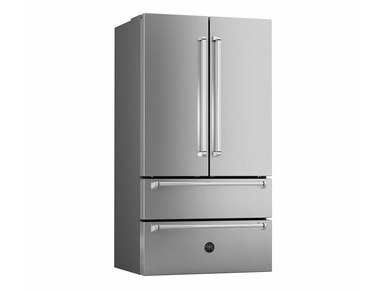 36 Freestanding French Door | Bertazzoni - Stainless Steel