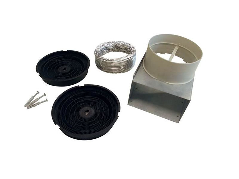 Recirculation Kit for model Hoods KU PRO/14, CON/14 and HER/14 | Bertazzoni - Stainless Steel