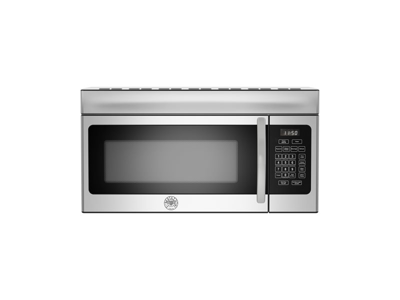 30 Over The Range Convection Microwave 300 CFM | Bertazzoni - Stainless Steel
