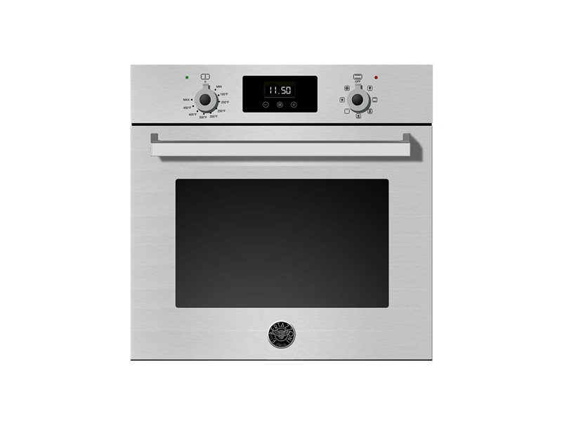 24 Single Convection Oven | Bertazzoni - Stainless Steel