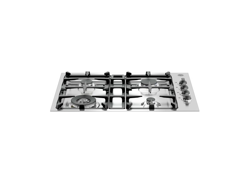 30 Drop-In Low Profile 4 Burners | Bertazzoni - Stainless Steel