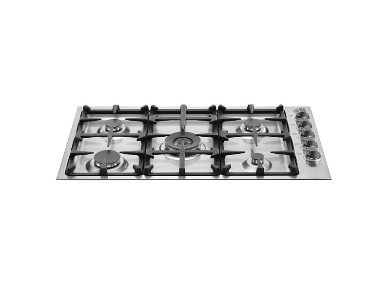 36 Drop-In Low Profile 5 Burners | Bertazzoni - Stainless Steel